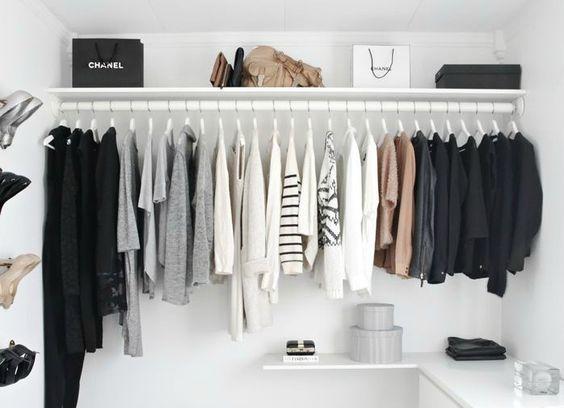 guarda-roupa cápsula