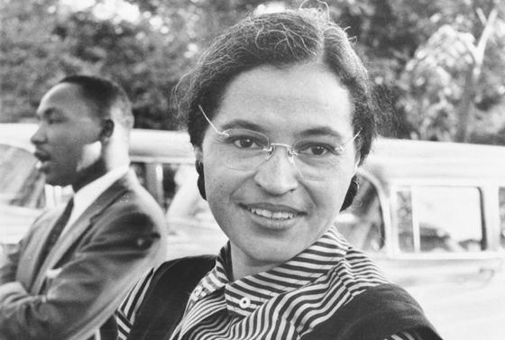 Rosa Parks lutou pela igualdade na época da segregação racial