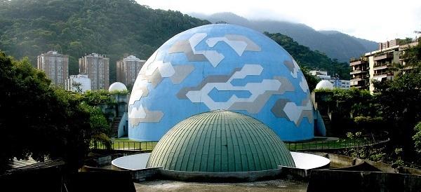 Faça um passeio Planetário no Rio de Janeiro em outubro