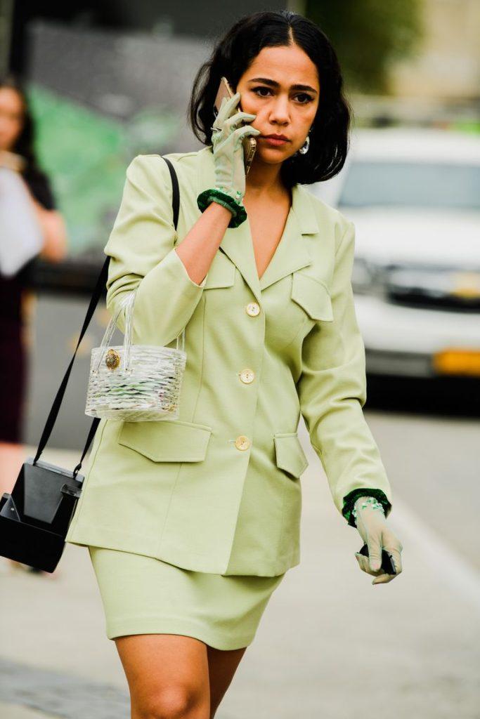 Fashionistas nas semanas de moda internacionais