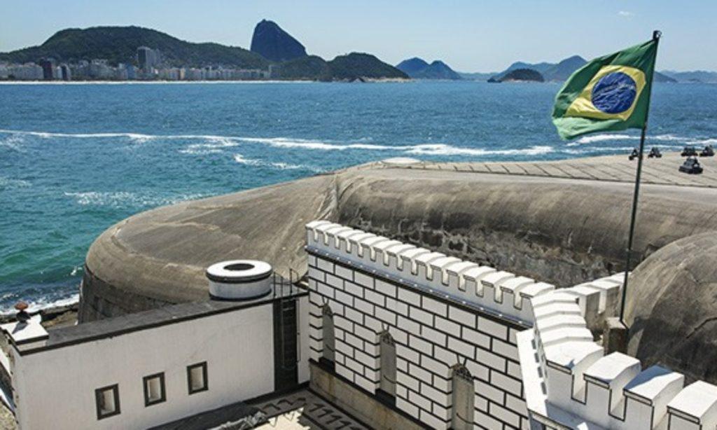 Visite o Forte de Copacabana do Rio de Janeiro em novembro