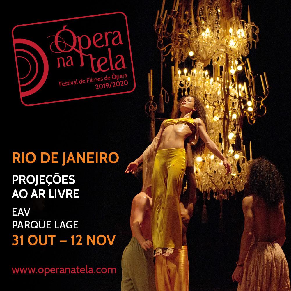Assista óperas famosas no Ópera na tela