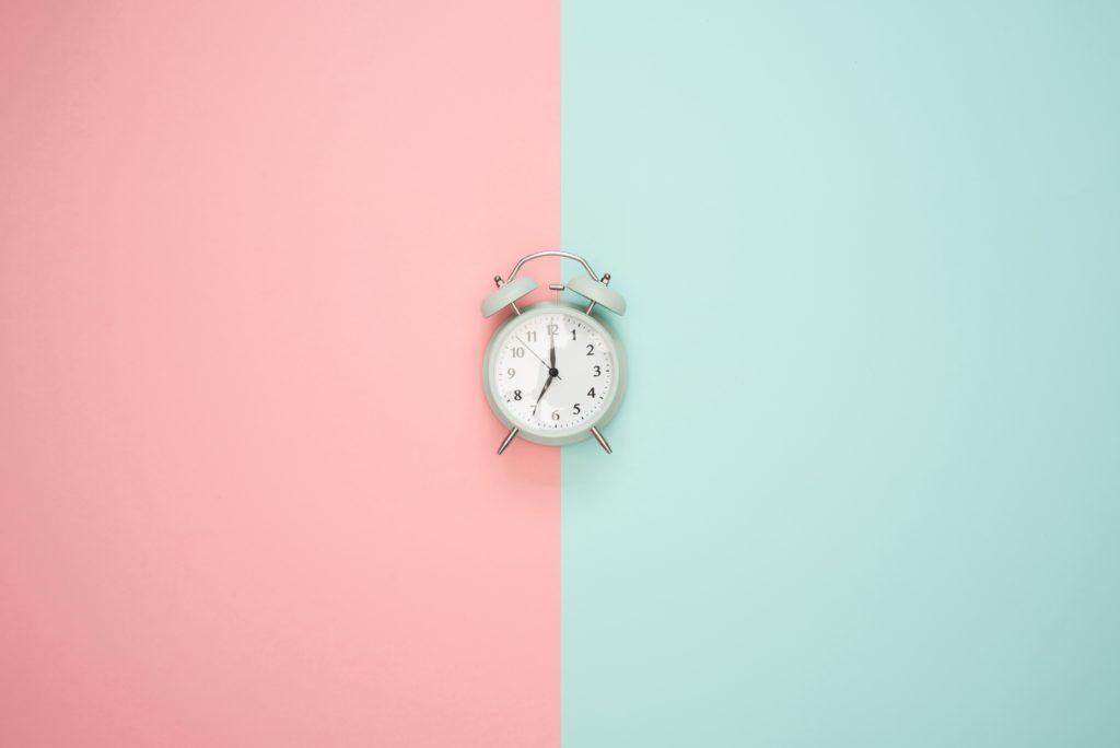 Uma rotina diária deve ter horários organizados