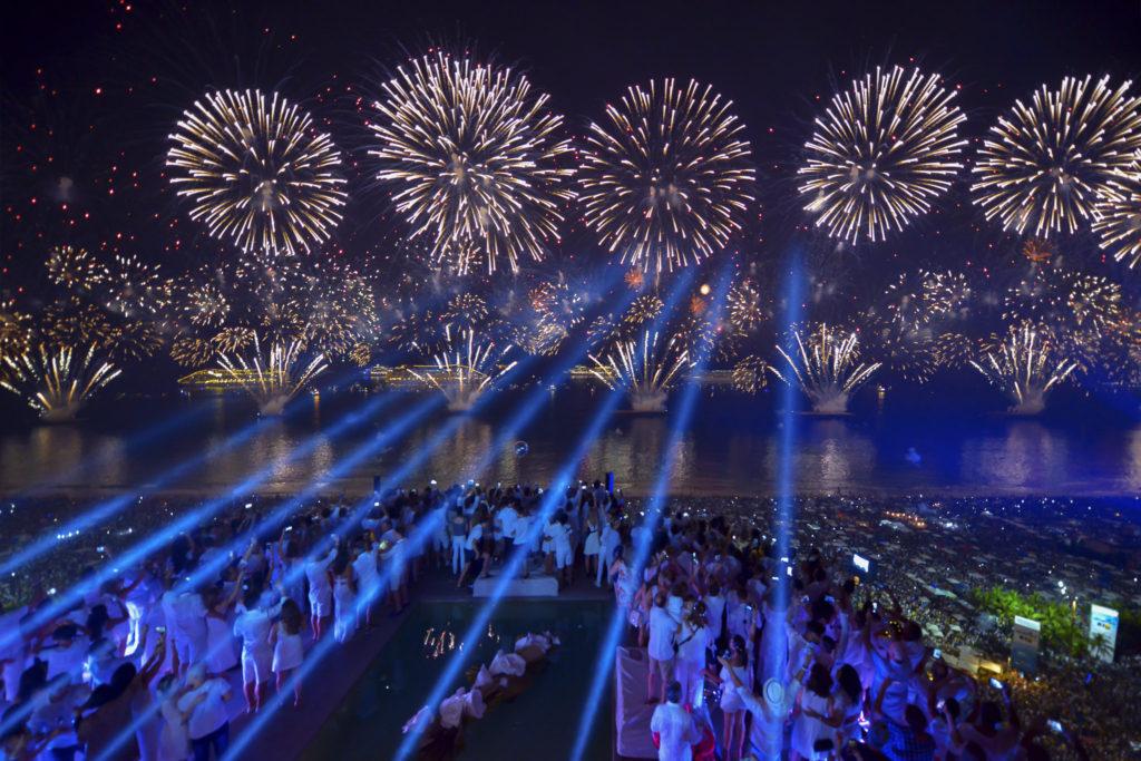 O Ano Novo no Rio de Janeiro é uma experiência única