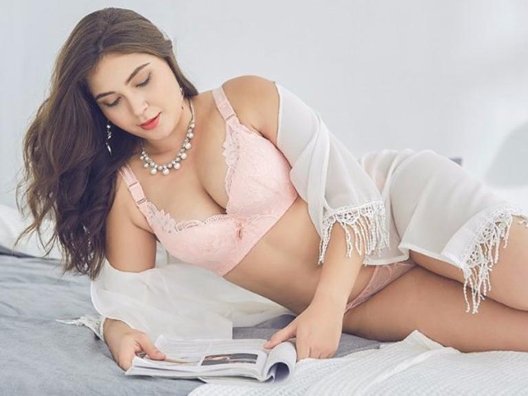 Modelo plus size Caroline Patrão da Rio Model